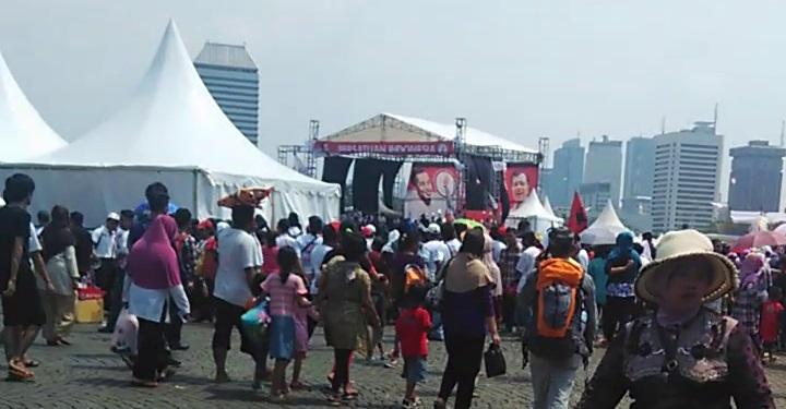 Pesta Rakyat Pelantikan Jokowi