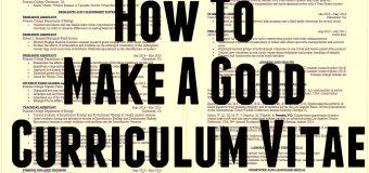 Cara Membuat CV (Curriculum Vitae) Yang Baik dan Menarik